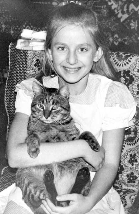 Рената Литвинова в детстве. / Фото: www.stuki-druki.com