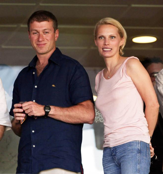 Роман Абрамович и Ирина Маландина. / Фото: www.mtdata.ru