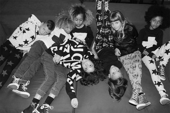 Гендерно-нейтральная коллекция детской одежды от Селин Дион. / Фото: www.inmagazine.ca