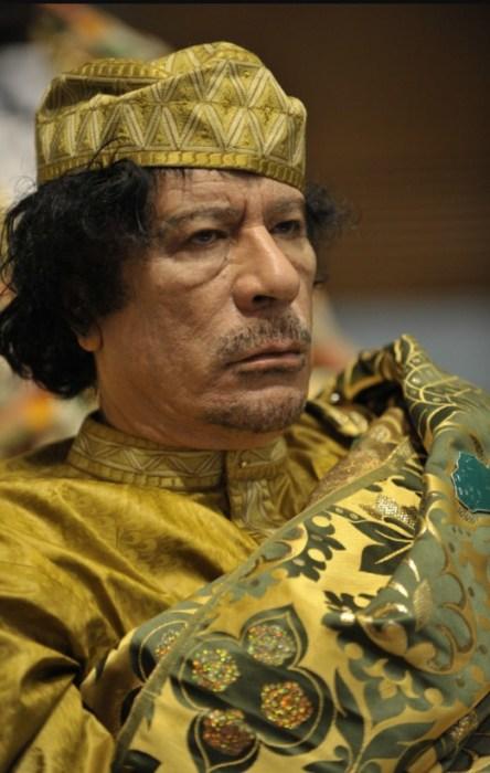 Муаммар Каддафи. / Фото: www.livelib.ru
