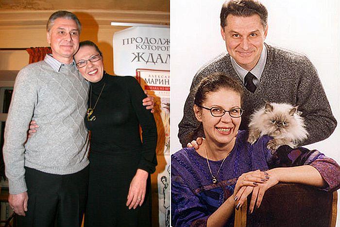 Александра Маринина и Сергей Заточный. / Фото: www.udivimka.fun