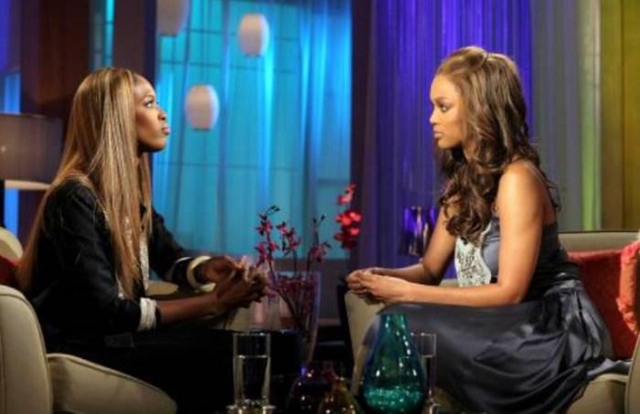 Тайра Бэнкс и Наоми Кэмпбелл. / Фото: www.thatgrapejuice.net