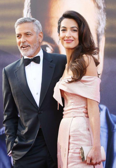 Джордж и Амаль Клуни. / Фото: www.ok-magazine.ru