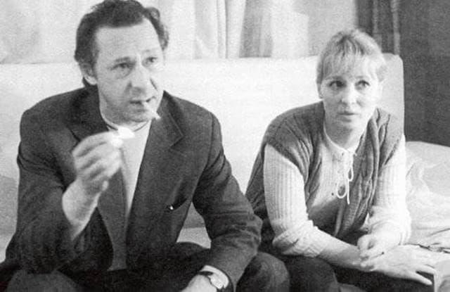 Алла Покровская и Олег Ефремов. / Фото: www.biographe.ru
