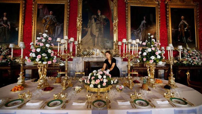 У королевского флориста всегда много работы. / Фото: www.gazeta.ru