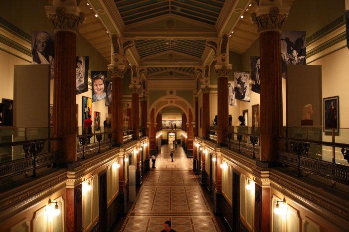 В Национальной портретной галерее Вашингтона. / Фото: www.flickr.com