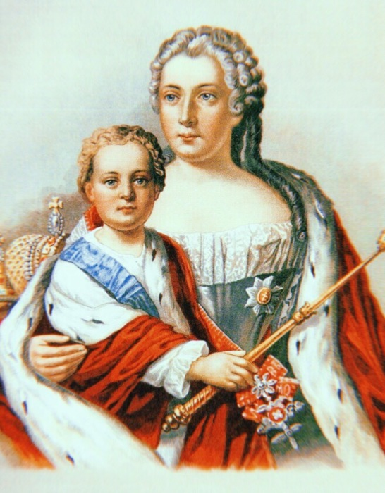 Иоанн Антонович и Анна Леопольдовна. / Фото: www.ratnik.tv