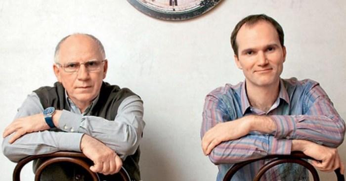 Валерий и Егор Бариновы. / Фото: www.isu.pub