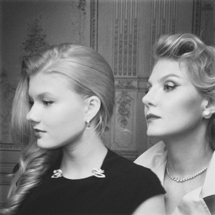 Ульяна Добровская и Рената Литвинова. / Фото: www.blogspot.com
