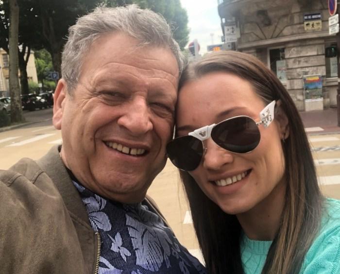 Борис Грачевский с женой. / Фото: www.instagram.com
