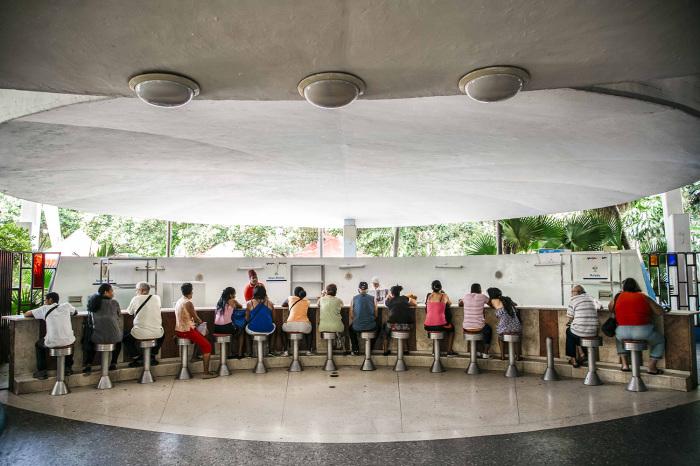 В кафе «Coppelia». / Фото: www.aeromexico.com