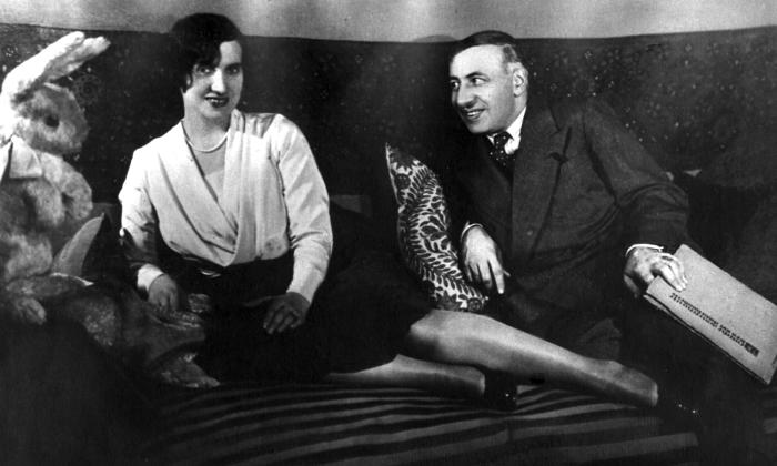 Алиса Коонен и Александр Таиров. / Фото: www.randomstein.com