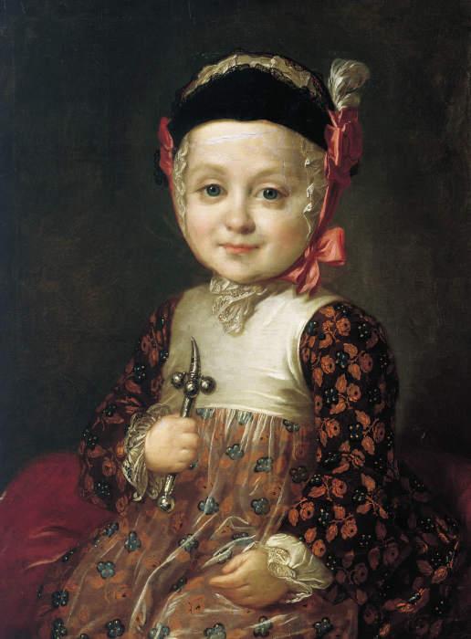 Алексей Бобринский, сын Екатерины II, портрет кисти Фёдора Рокотова. / Фото: www.jivopis.org