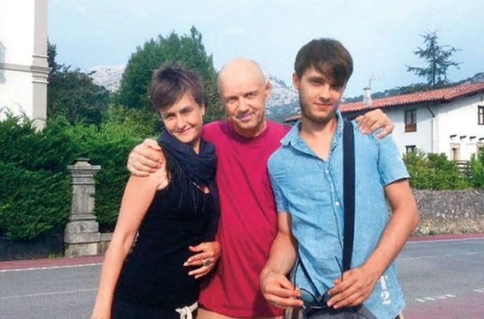 Альгис Арлаускас с дочерью Ольгой и сыном Александром. / Фото: www.wday.ru