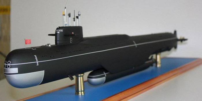 Макет подводной лодки с АГС «Лошарик». / Фото: www.gorod24.online