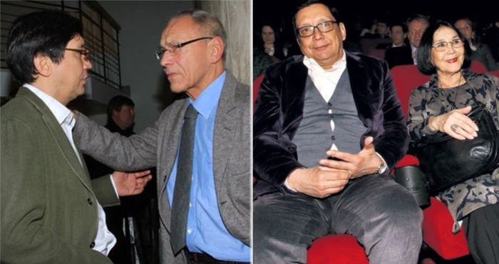 Егор и Андрей Кончаловские. Егор Кончаловский с мамой Натальей Аринбасаровой.