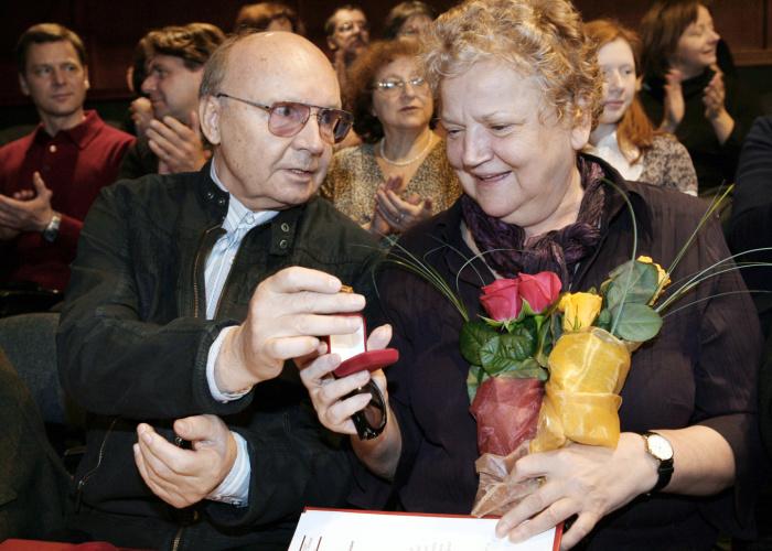 Андрей Мягков и Анастасия Вознесенская. / Фото: www.life.ru