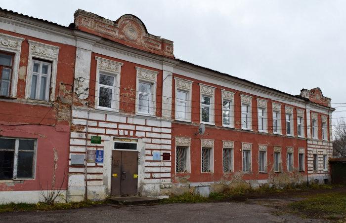 Именно здесь располагался в XIX веке Скопинский общественный банк Ивана Рыкова. / Фото: www.yandex.net