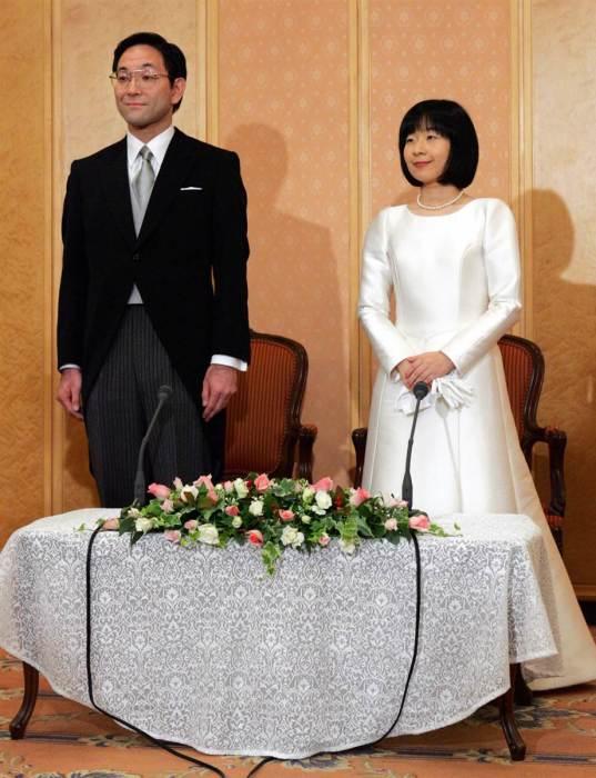Принцесса Нори и Ёсики Курода. / Фото: www.epochtimes.jp