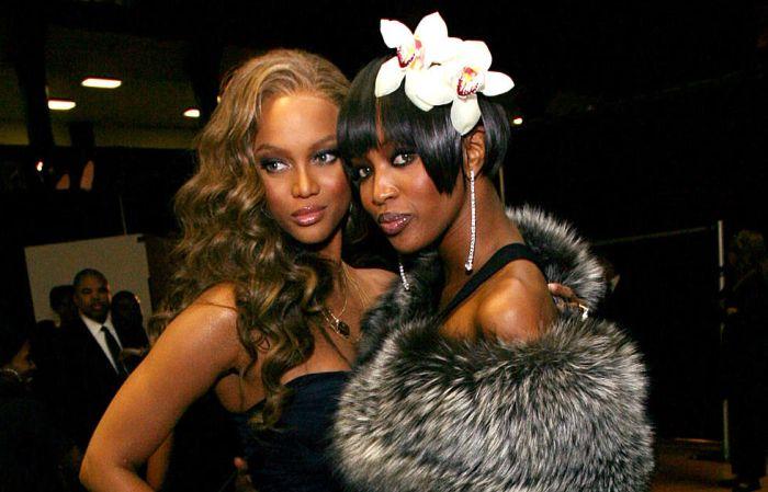Тайра Бэнкс и Наоми Кэмпбелл. / Фото: www.townsquare.media