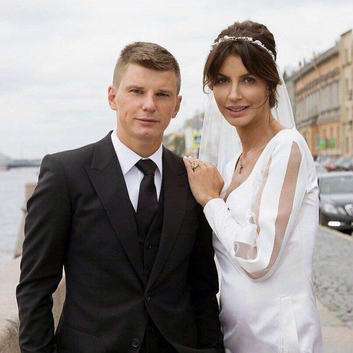 Андрей Аршавин и Алиса Казьмина. / Фото: www.eva.ru