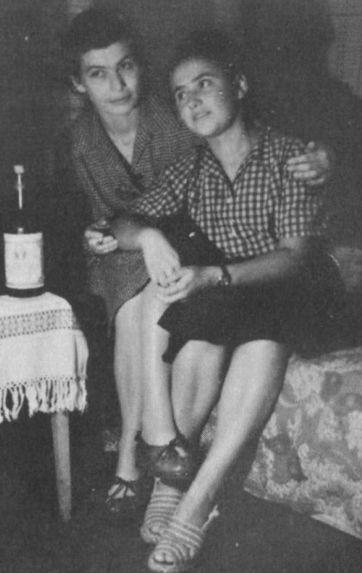 Ирина Эренбург с Фаней. / Фото: www.litmir.me