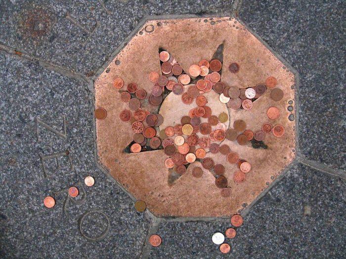 Точка Ноль, Париж, Франция. / Фото: www.wikimedia.org