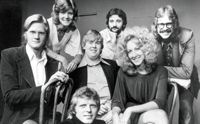 Джон Кэнди и труппа «Second City», 1976 год. / Фото: www.ytimg.com