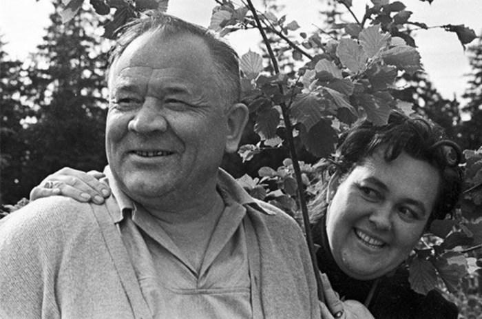 Борис Андреев и его жена Галина. / Фото: www.really-cool.ru