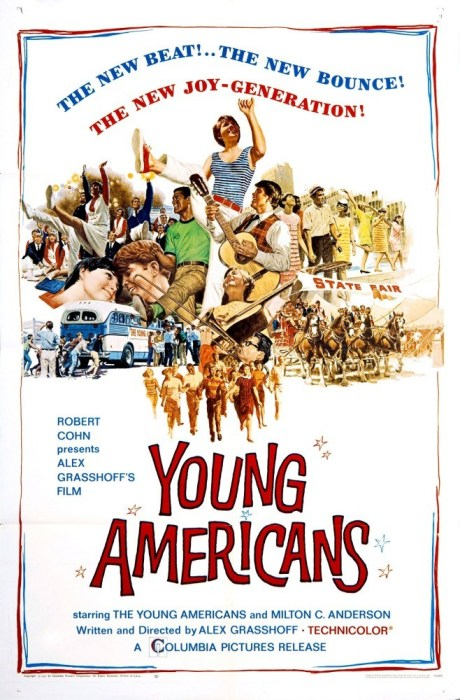 Постер фильма «Молодые американцы». / Фото: www.my-hit.org