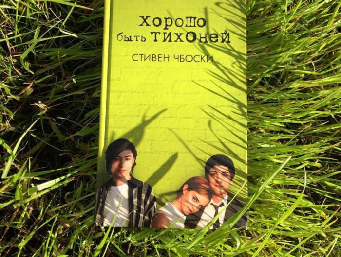 Стивен Чбоски, «Хорошо быть тихоней». / Фото: www.labirint.ru