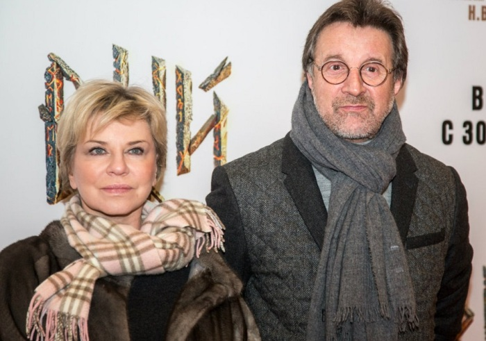 Оксана Афанасьева и Леонид Ярмольник. / Фото: www.300experts.ru