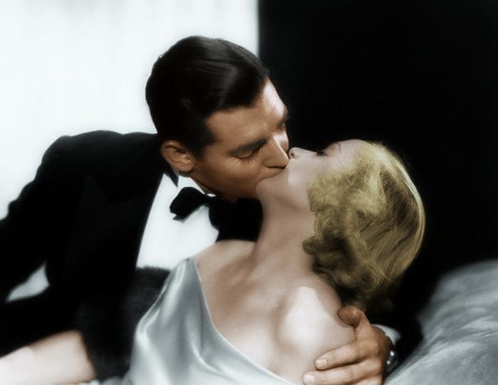 Кларк Гейбл и Кэрол Ломбард, кадр из фильма «No Man of Her Own». / Фото: www.blogspot.com