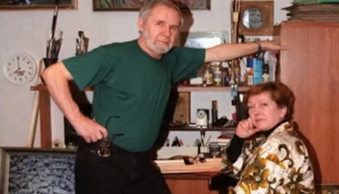 Ольга Волкова и Владимир Ховралёв. / Фото: www.russia.tv