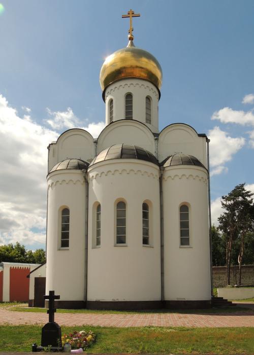 Церковь Пимена Угрешского в Николо-Угрешском монастыре. / Фото: www.photosight.ru