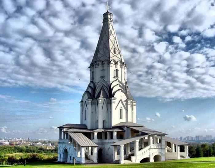 Церковь Вознесения Господня в Коломенском. / Фото: www.yandex.net