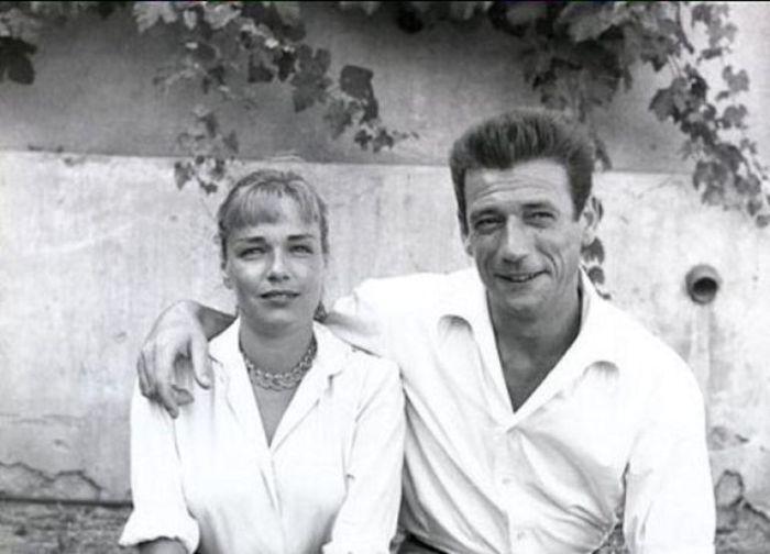 Ив Монтан и Симона Синьоре. / Фото: www.dir.bg