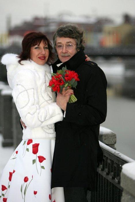 Игорь Старыгин и Екатерина Табашникова в день свадьбы. / Фото: www.livejournal.com