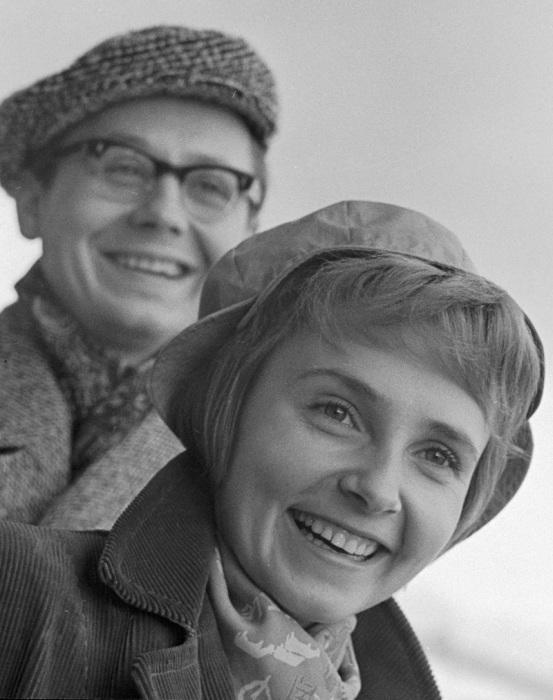 Олег Табаков и Людмила Крылова. / Фото: www.ria.ru