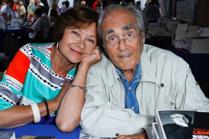 Мишель Легран и Маша Мериль. / Фото: www.closermag.fr