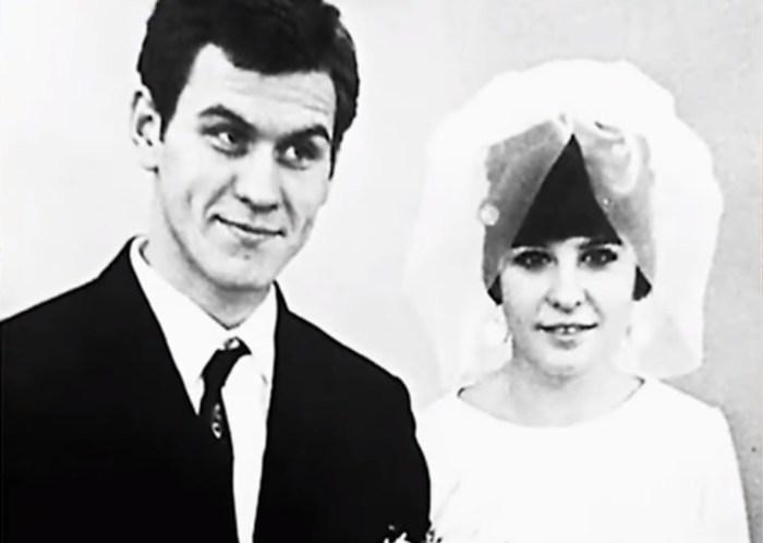 Валерий Афанасьев с первой женой. / Фото: www.russia.tv