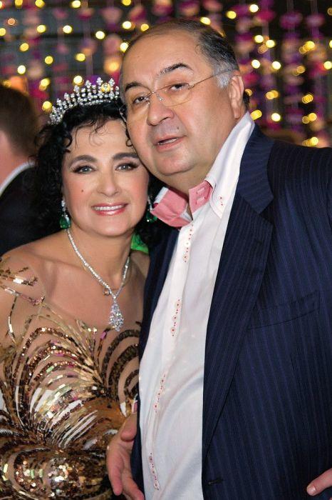 Алишер Усманов и Ирина Винер. / Фото: www.deduhova.ru