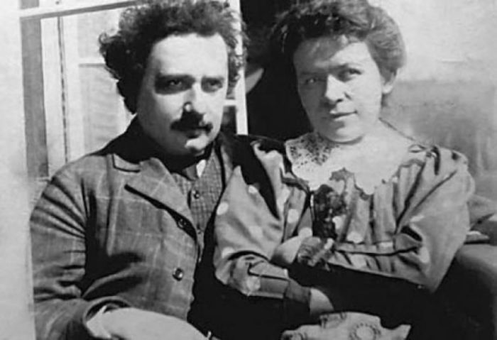 Альберт Эйнштейн и Милева Марич. / Фото: www.diletant.media