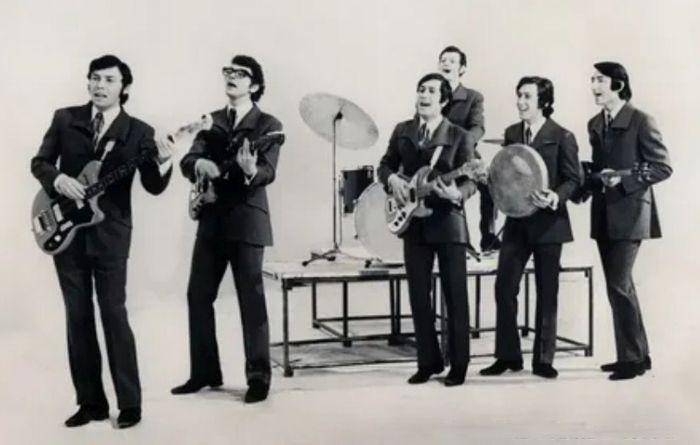 Ансамбль «Ялла», 1970 год. / Фото: www.nuz.uz