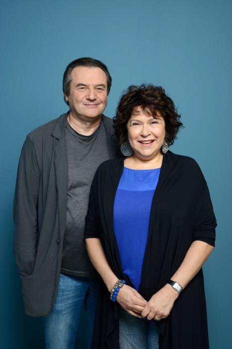 Алексей Учитель и Кира Саксаганская. / Фото: www.zimbio.com