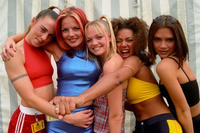 Spice Girls в 1990-е годы. / Фото: www.losrostros.com.mx