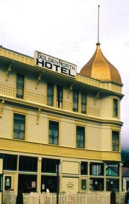 Отель «Golden North», Скагуэй, Аляска. / Фото: www.princesslodges.com
