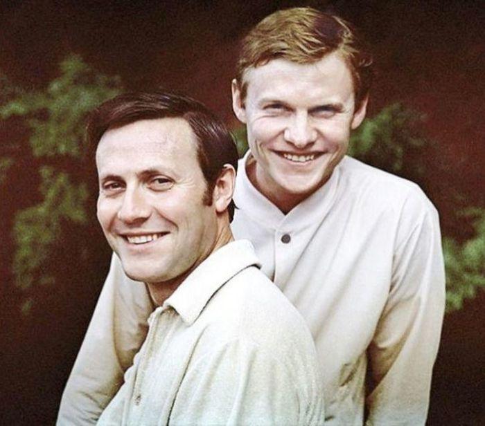 Юрий и Виталий Соломины. / Фото: www.zab.ru