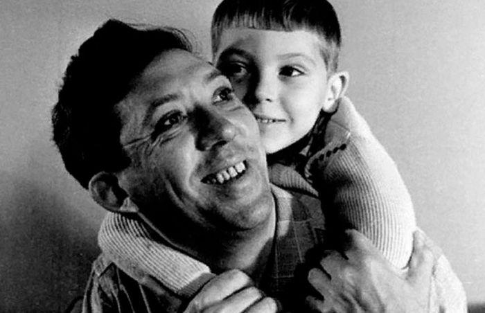 Юрий Никулин с сыном. / Фото: www.1000news.ru