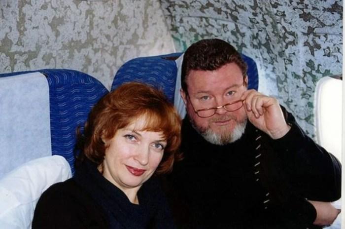 Михаил Евдокимов с женой. / Фото: www.yandex.net